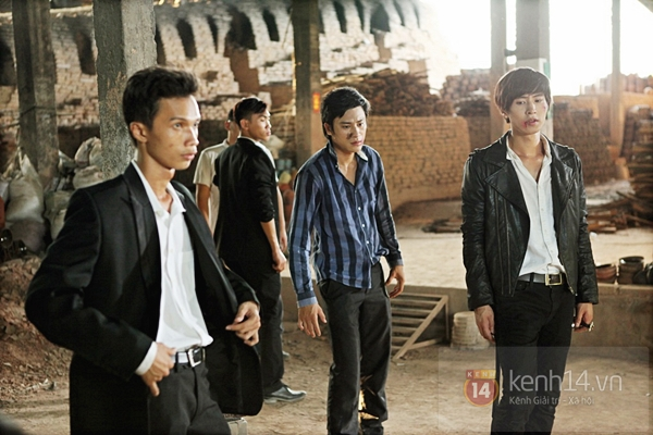 Mỹ nam Hàn bị đánh te tua trong phim Việt 3