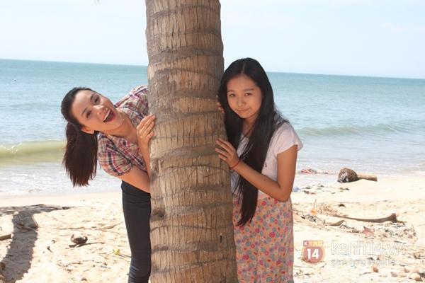 """Trang Nhung """"hồi teen"""" cùng Tiểu Angela 1"""