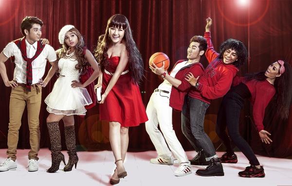 """Tạo hình sặc sỡ chất kịch của """"High School Musical"""" phiên bản Việt 5"""