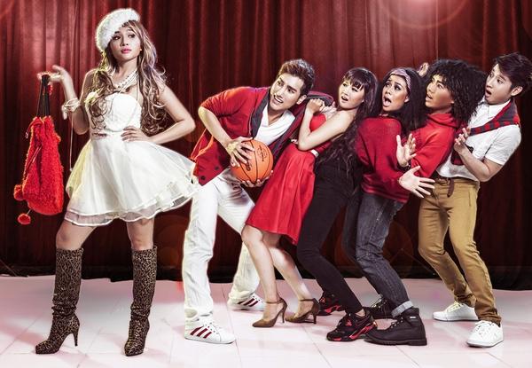 """Tạo hình sặc sỡ chất kịch của """"High School Musical"""" phiên bản Việt 15"""