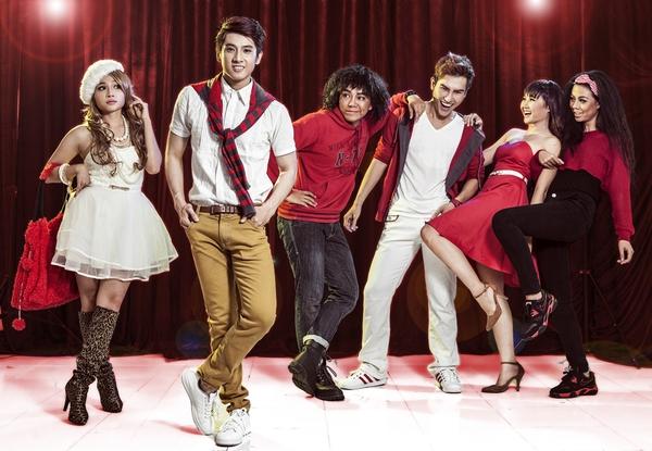 """Tạo hình sặc sỡ chất kịch của """"High School Musical"""" phiên bản Việt 16"""