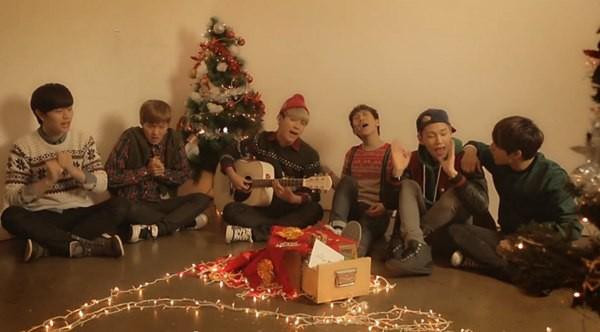 B2ST, 4Minute, A Pink, G.Na... quây quần trong MV Giáng sinh 10
