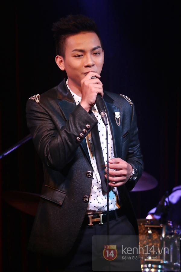 Mr. Đàm lẳng lặng đến cổ vũ đêm nhạc của Hoài Lâm 11