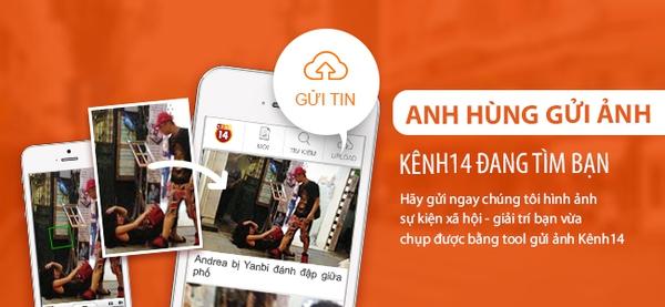 Cách sử dụng tính năng gửi tin cực độc của ứng dụng Kenh14 6