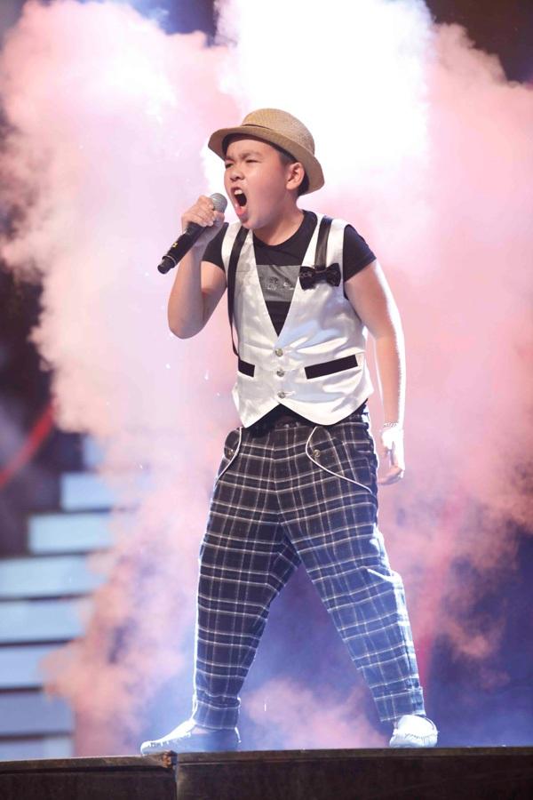Giọng ca 10 tuổi gây bão tại Chung kết 2 Vietnam's Got Talent 3