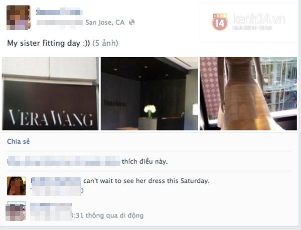 Hé lộ hình ảnh váy cưới của bà xã Đan Trường 1