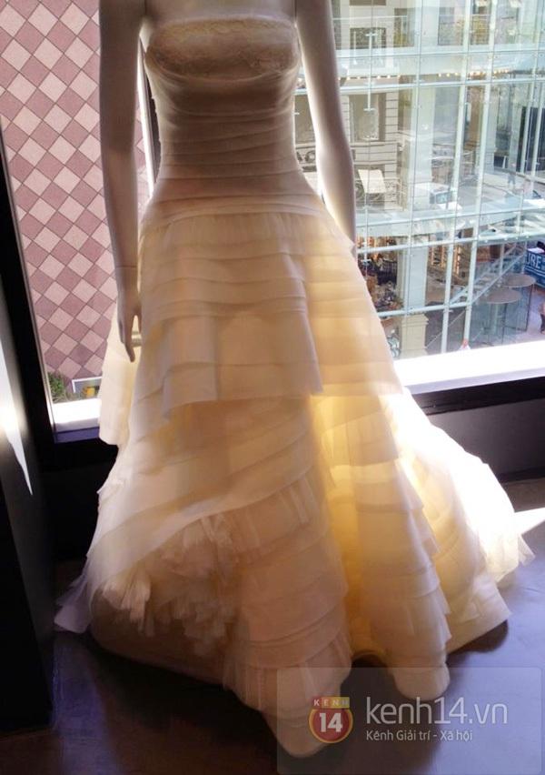 Hé lộ hình ảnh váy cưới của bà xã Đan Trường 2