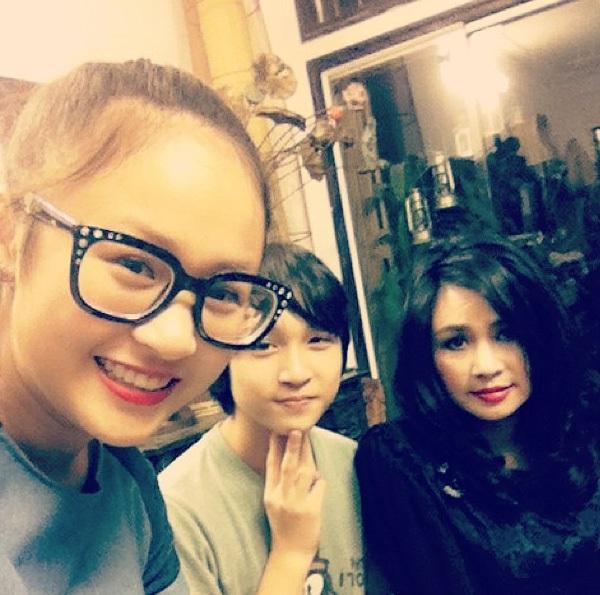 Thiện Thanh - cô con gái xinh xắn và đáng yêu của diva Thanh Lam 1