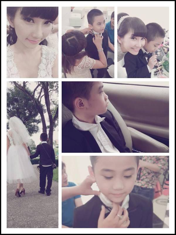 Kim Hiền bất ngờ lộ ảnh đi chụp cưới 2