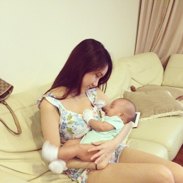 Cận cảnh nhan sắc của em gái Hoa hậu Thùy Lâm 6