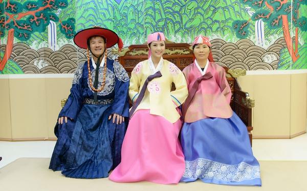 Ngọc Hân xinh tươi trong bộ trang phục truyền thống xứ Hàn 3