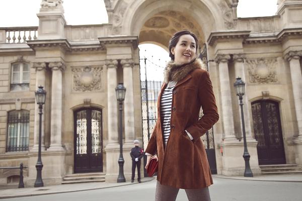 Mai Phương Thúy quyến rũ trên đường phố Paris 1