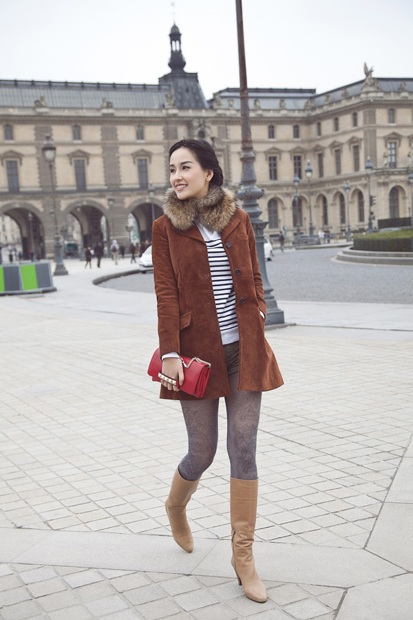 Mai Phương Thúy quyến rũ trên đường phố Paris 3