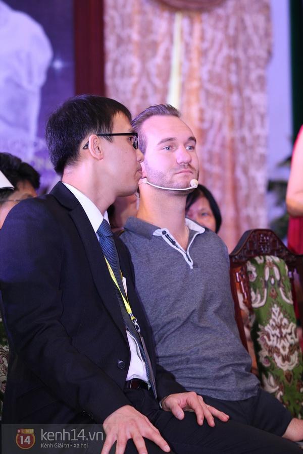 """Nick Vujicic: """"Tôi và vợ xin trân trọng cảm ơn tình cảm của người Việt Nam"""" 3"""