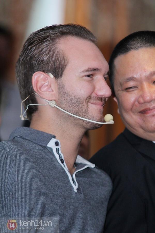 """Nick Vujicic: """"Tôi và vợ xin trân trọng cảm ơn tình cảm của người Việt Nam"""" 4"""