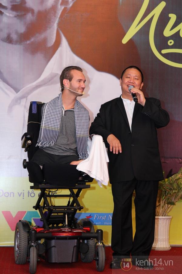 """Nick Vujicic: """"Tôi và vợ xin trân trọng cảm ơn tình cảm của người Việt Nam"""" 10"""