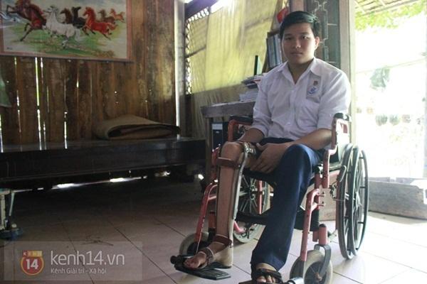 9 năm đương đầu với nghèo khó và bệnh tật của cậu học trò giỏi 1