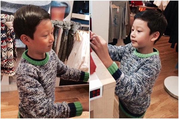Những nhóc tì nhà sao Việt càng lớn càng xinh và chững chạc 21