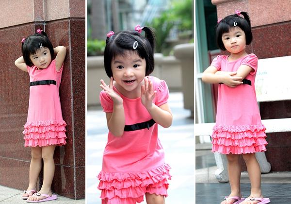Những nhóc tì nhà sao Việt càng lớn càng xinh và chững chạc 23