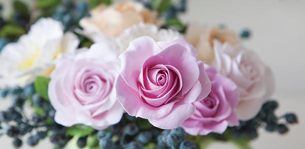 Cách làm hoa hồng bằng đất sét tỉ mỉ y như hoa thật 1
