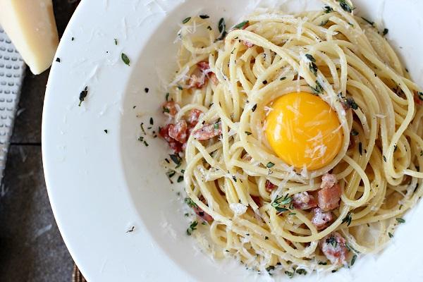 Đến thăm nước Ý với món spaghetti sốt carbonara thơm ngậy 1