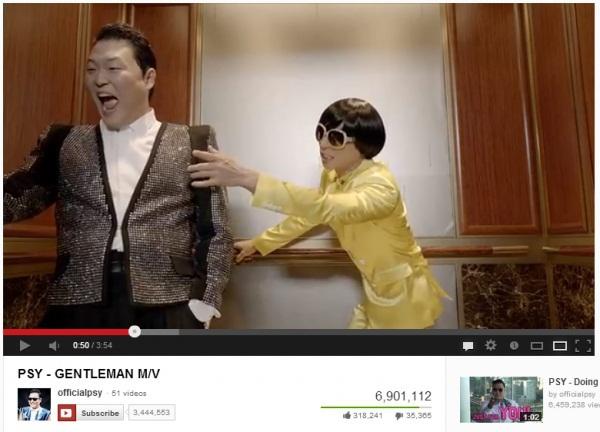"""MV """"Gentleman"""" của Psy: 6,9 triệu lượt view trong hơn 12 giờ 2"""