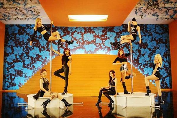 "After School ""nhử fan"" bằng clip... múa cột 1"