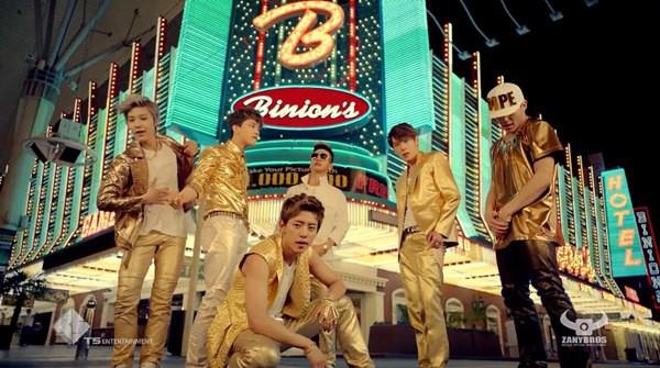 """B.A.P """"quậy tưng"""" Las Vegas trong MV mới sặc sỡ 6"""