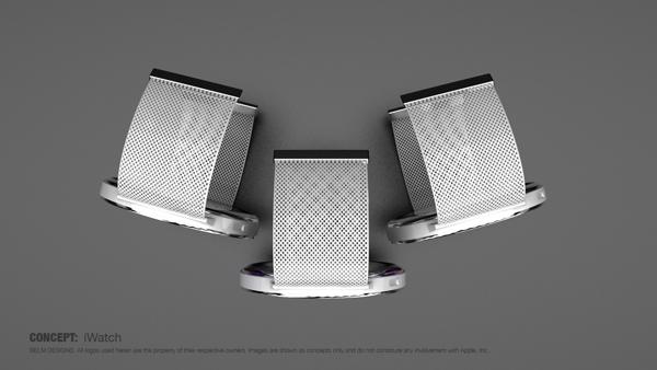 Mẫu thiết kế iWatch kết hợp hài hòa thời trang và công nghệ 2
