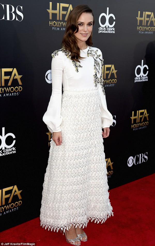 """Loạt siêu sao điện ảnh lộng lẫy dự """"Hollywood Film Awards 2014"""" 14"""