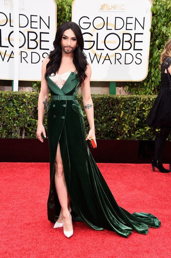Loạt sao Hollywood đẹp lung linh tại lễ trao giải Quả Cầu Vàng 2015 5