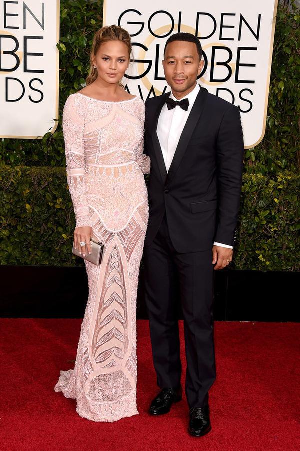 Loạt sao Hollywood đẹp lung linh tại lễ trao giải Quả Cầu Vàng 2015 9
