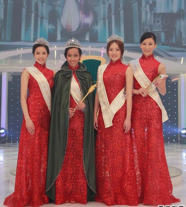 Tân Hoa hậu Quốc tế Trung Quốc 2015 bị chê da đen, xồ xề 8