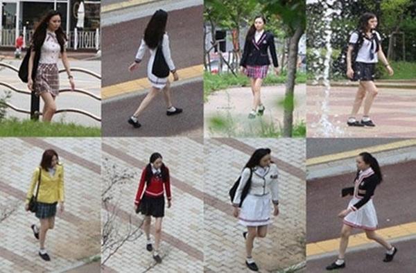 Hàn Quốc: Người đẹp quanh năm mặc... đồng phục học sinh 1