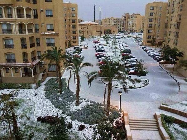 Vì sao tuyết rơi bất thường ở Việt Nam, Ai Cập và Trung Đông 2