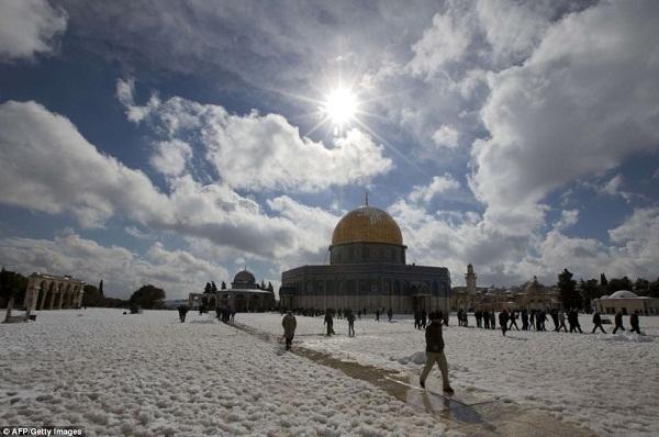 Vì sao tuyết rơi bất thường ở Việt Nam, Ai Cập và Trung Đông 6