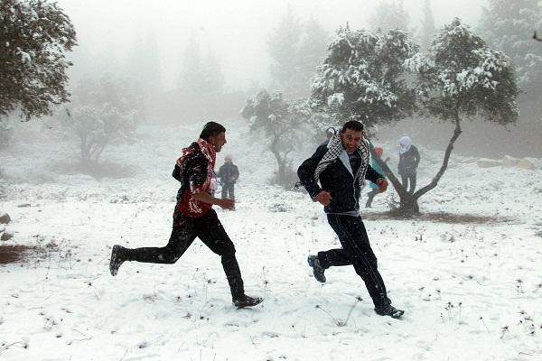 Vì sao tuyết rơi bất thường ở Việt Nam, Ai Cập và Trung Đông 8