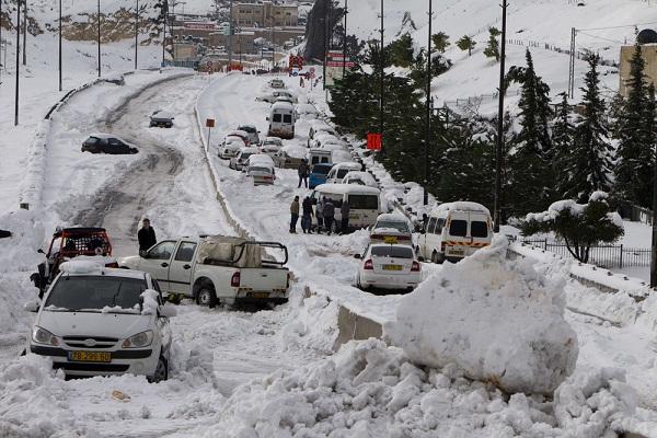 Vì sao tuyết rơi bất thường ở Việt Nam, Ai Cập và Trung Đông 9