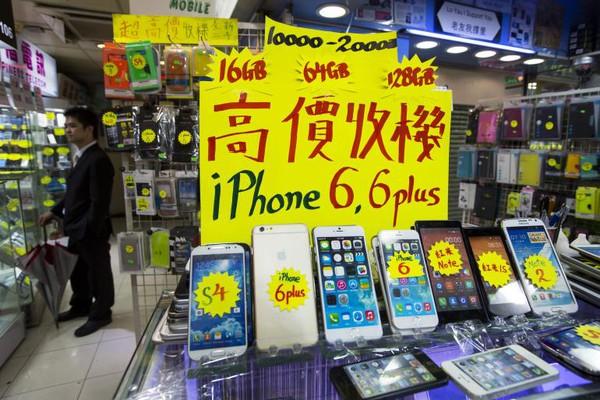 Vượt qua Mỹ, Trung Quốc trở thành thị trường bán chạy iPhone nhất 2