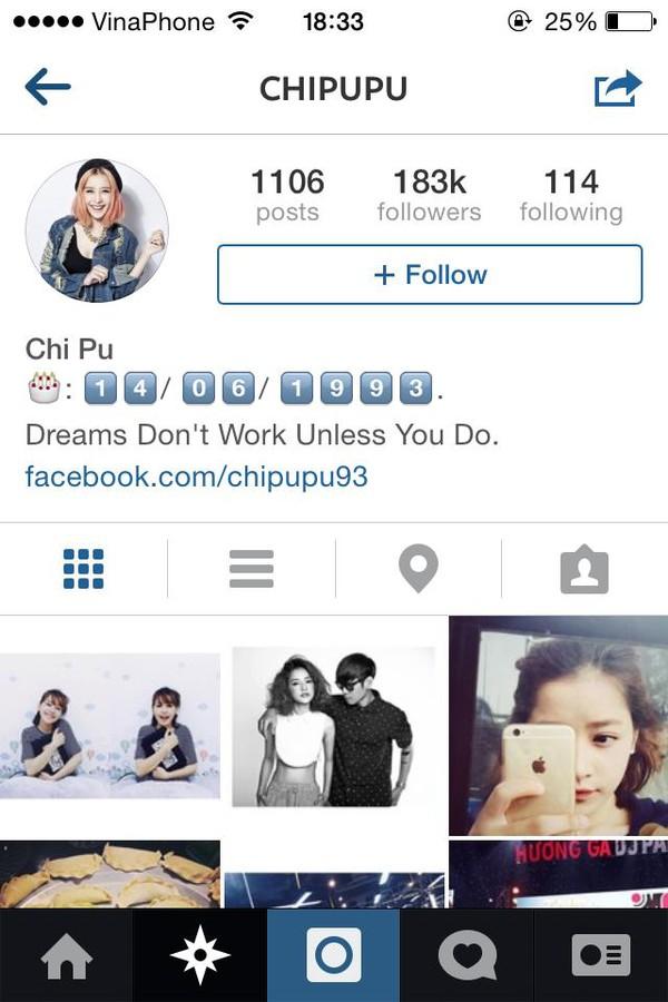 """Top 8 hot girl Việt sở hữu lượng """"follower"""" khủng trên Instagram 1"""