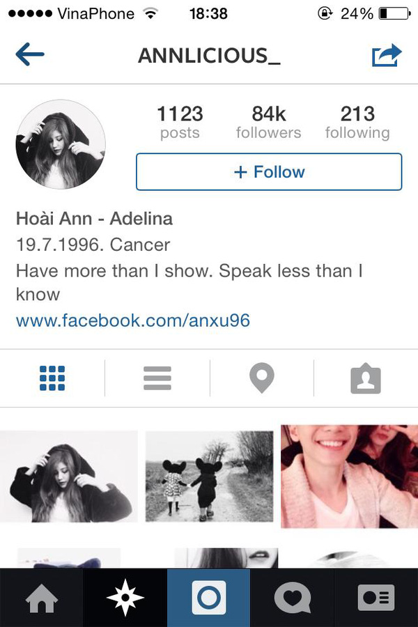 """Top 8 hot girl Việt sở hữu lượng """"follower"""" khủng trên Instagram 45"""