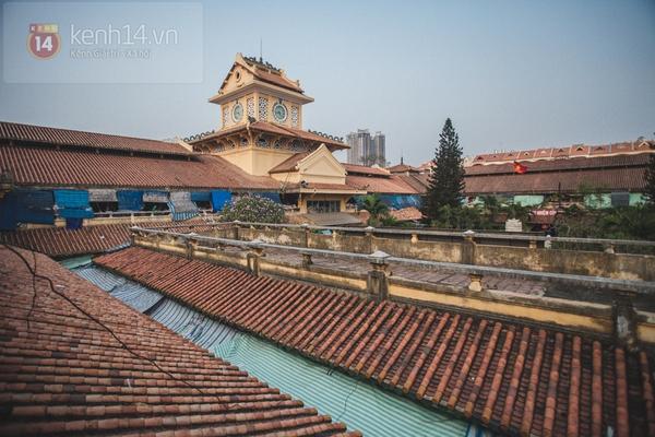 Chùm ảnh: Rộn ràng và tấp nập những khu chợ nổi tiếng Sài Gòn 13