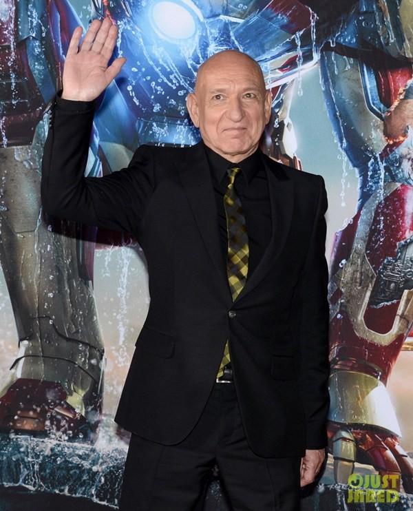 """Màn thân mật gây choáng trên thảm đỏ """"Iron Man 3"""" 8"""