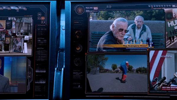 """Những phút """"bá đạo"""" của cha đẻ anh hùng Marvel trên màn ảnh 6"""