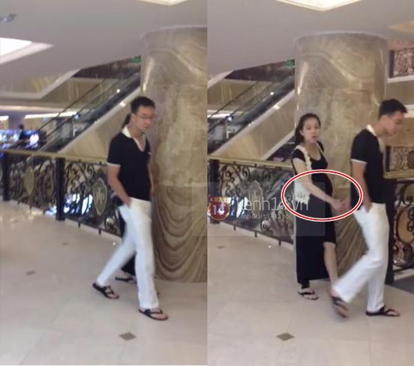Lộ ảnh Hoa hậu Thùy Lâm mang thai lần thứ hai 1