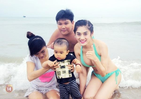 Lâm Chi Khanh lần đầu khoe body nóng bỏng với bikini 8