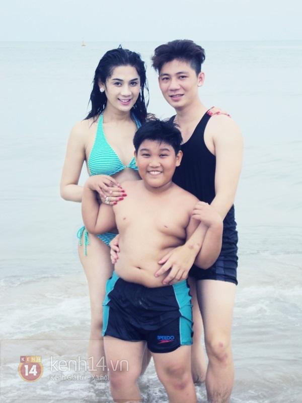 Lâm Chi Khanh lần đầu khoe body nóng bỏng với bikini 9