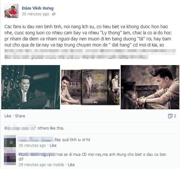Đàm Vĩnh Hưng dặn fan không được hỗn với nhạc sĩ Nguyễn Ánh 9 1