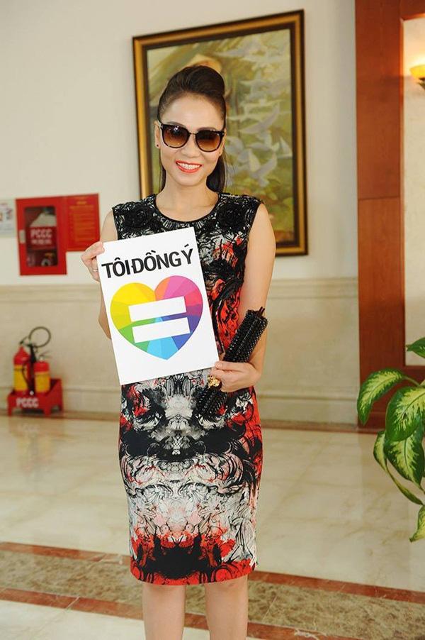 Nhiều sao Việt lên tiếng ủng hộ cho người đồng tính 1