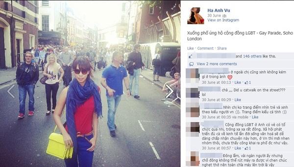 Nhiều sao Việt lên tiếng ủng hộ cho người đồng tính 7